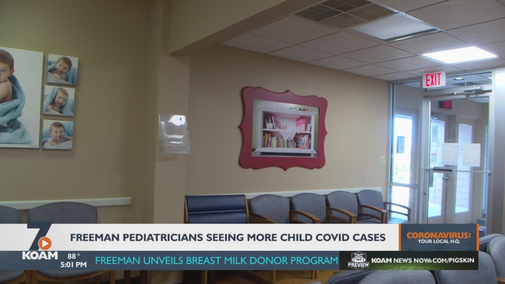Freeman Health Systems Says It Has Seen A Rise In Children Covid 19 Cases.