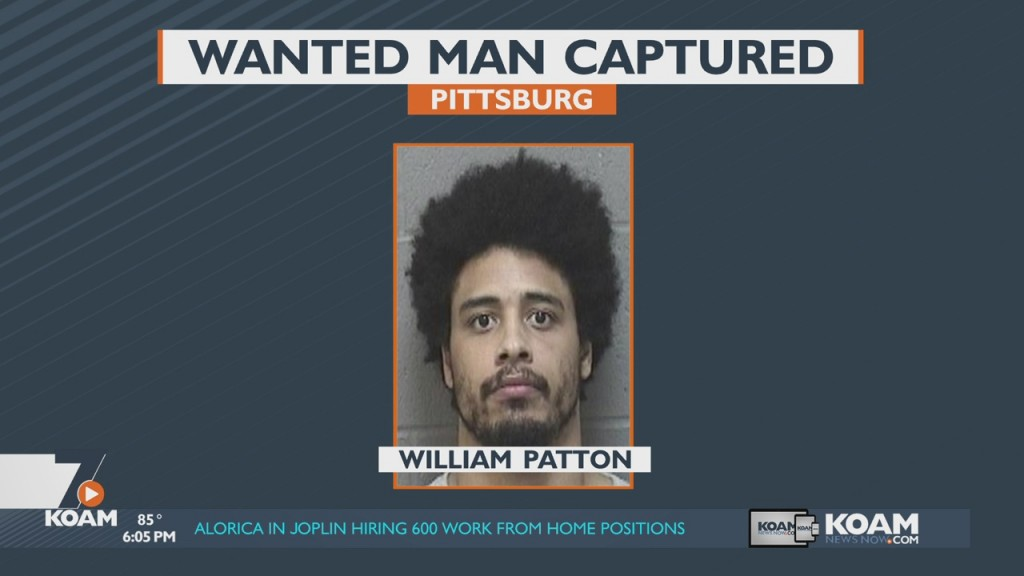 Wanted Man Captured In Pittsburg