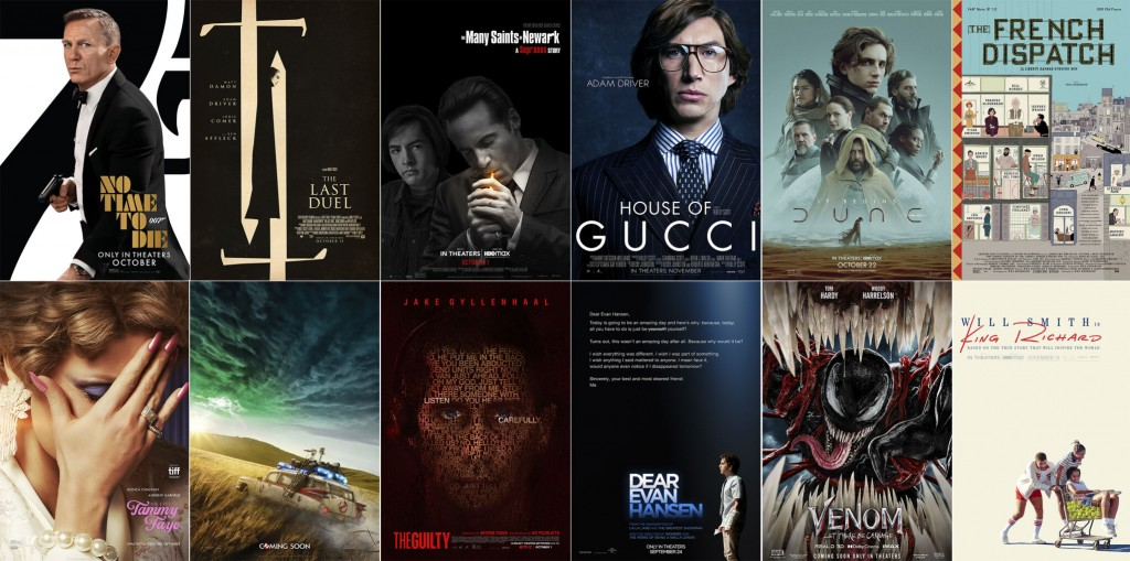 A Fall Movie Season (like Everything Else) In Flux