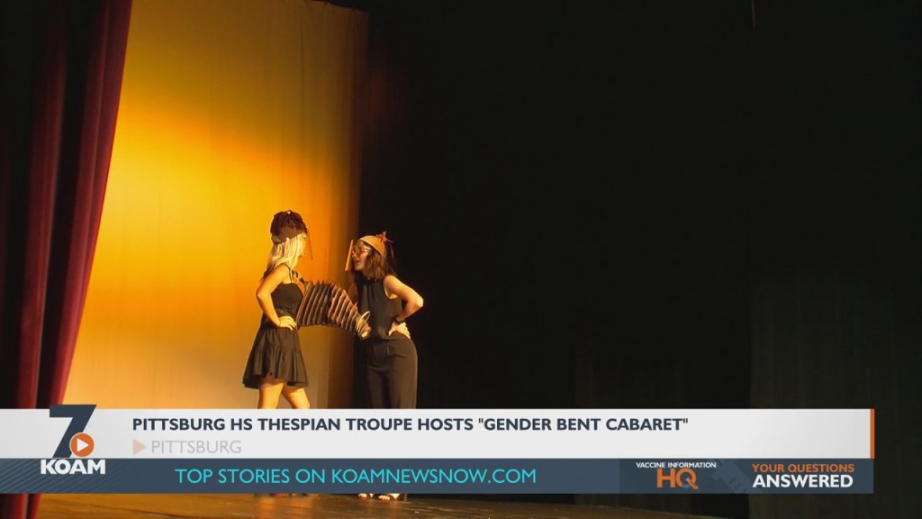 Pittsburg High School Theatre Students Held A Cabaret Performance Of Various Showtunes
