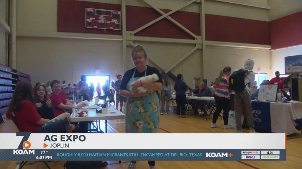 The Joplin School District Hosted Its Ag Expo Today
