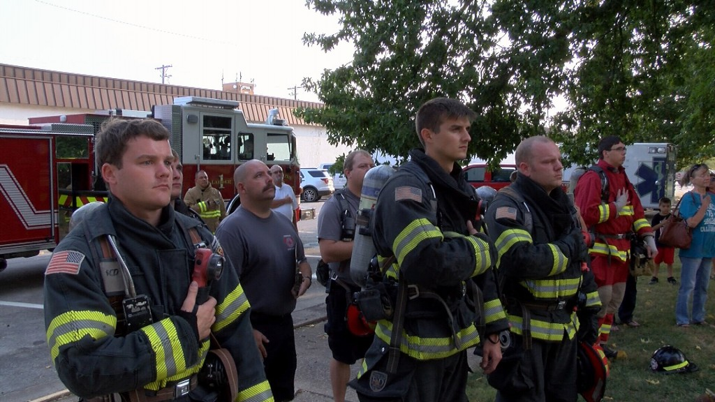 Parsons Firefighters Honor 9 11 Heroes