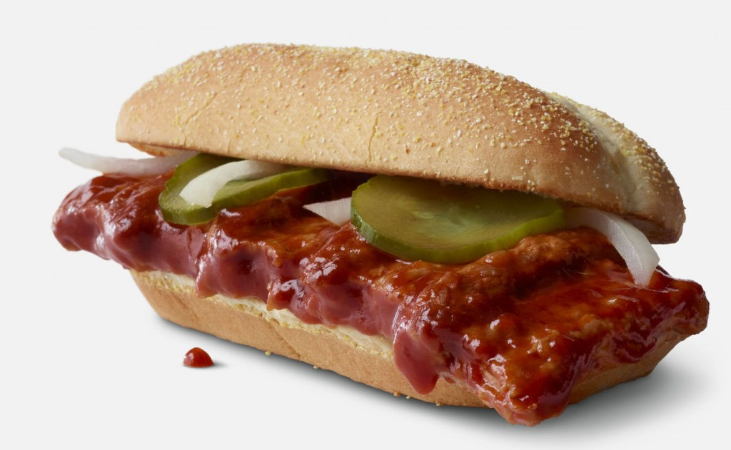 Mcdonald's To Bring Back Mcrib On Nov. 1 For Sandwich's 40th Anniversary