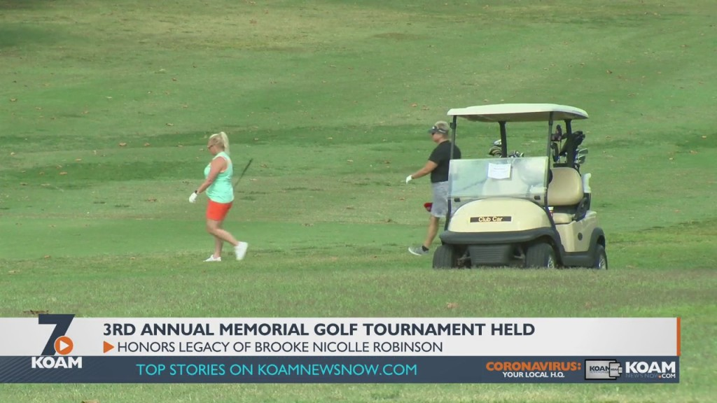 The Brook Nicolle Robinson Foundation Held Their Third Annual Golf Tournament To Raise Funds And Honor The Life Of Twelve Year Old Brooke Robinson