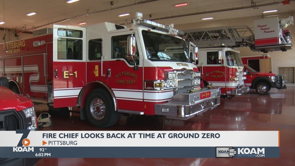 Pittsburg's Fire Chief Recalls The Time He Spent Assisting With Recovery Efforts On 9/11