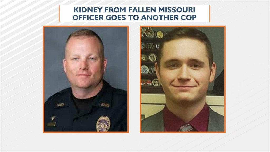 Kidney From Fallen Missouri Officer Goes To Another Cop