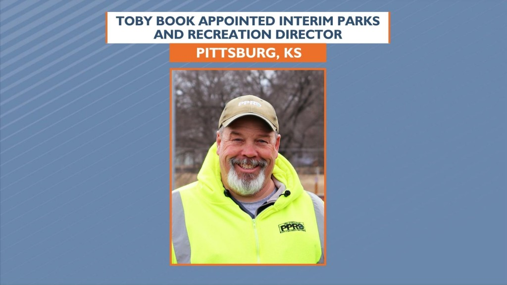 Toby Book Appointed Interim Parks And Recreation Director