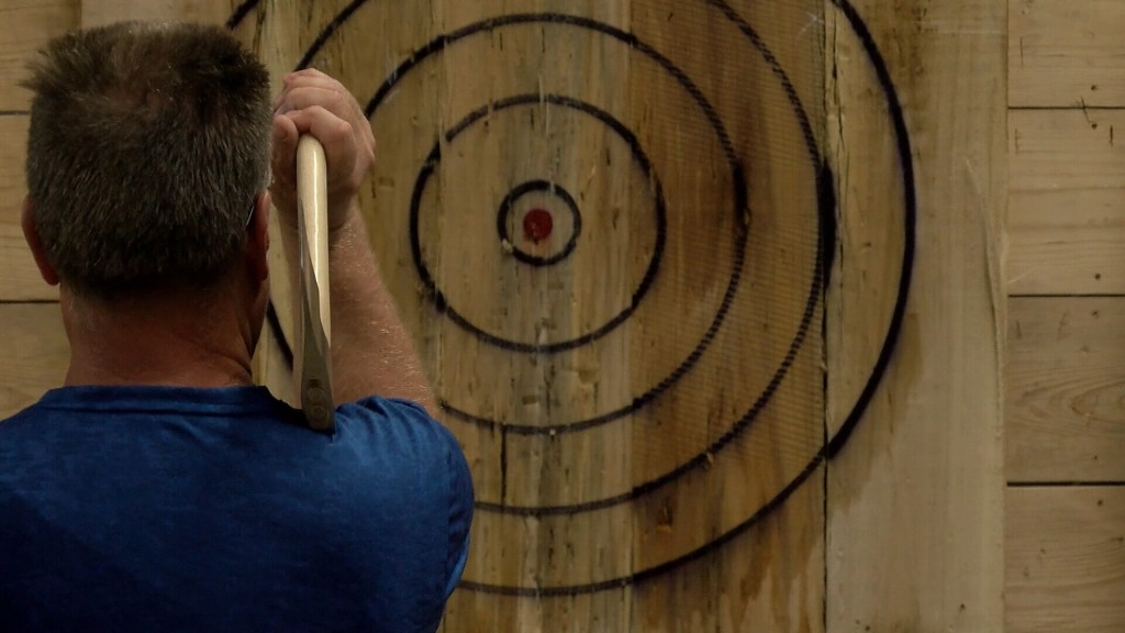 Axe Throwing In Joplin In Support Of Breast Cancer Awareness