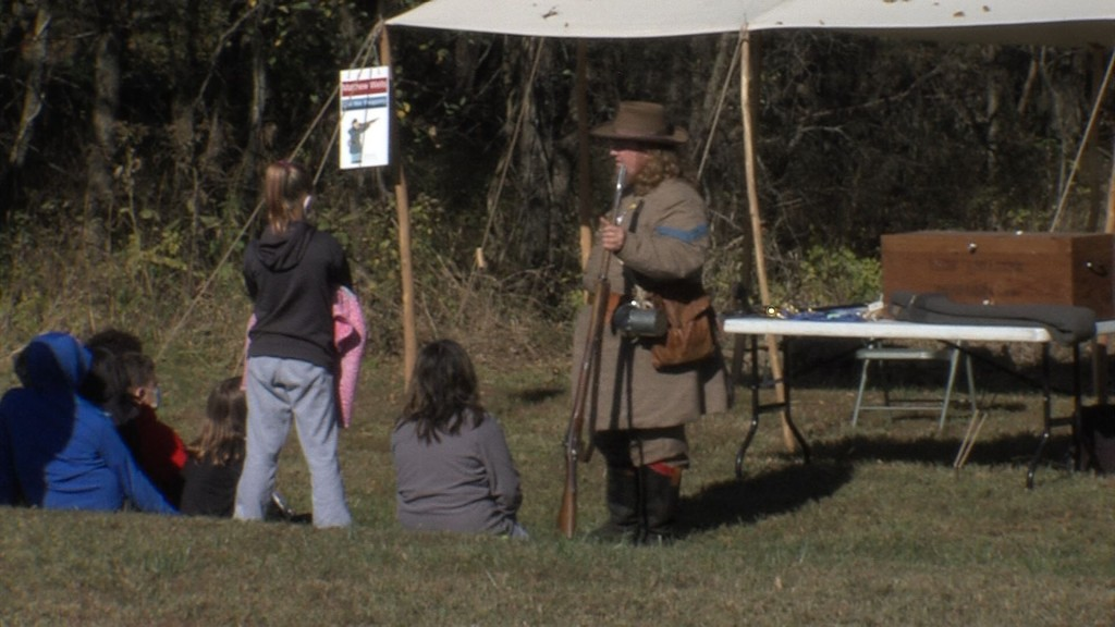 Educational station at Cato Days