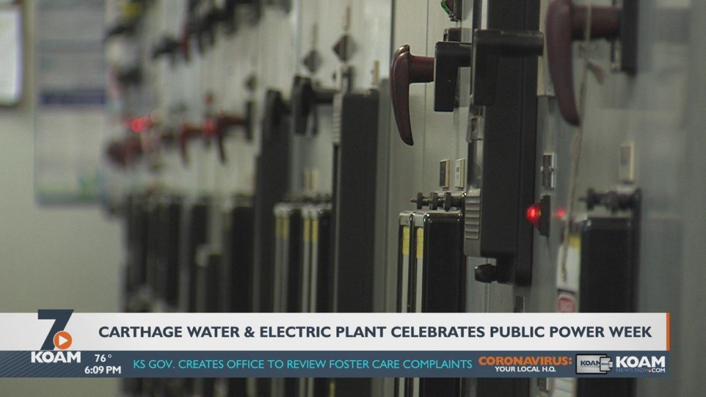 Carthage Water And Electric Plant Celebrates Public Power Week