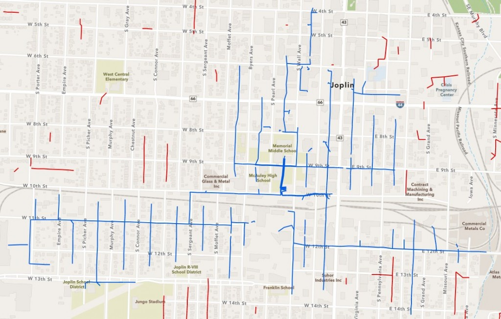 Liberty Outage Map
