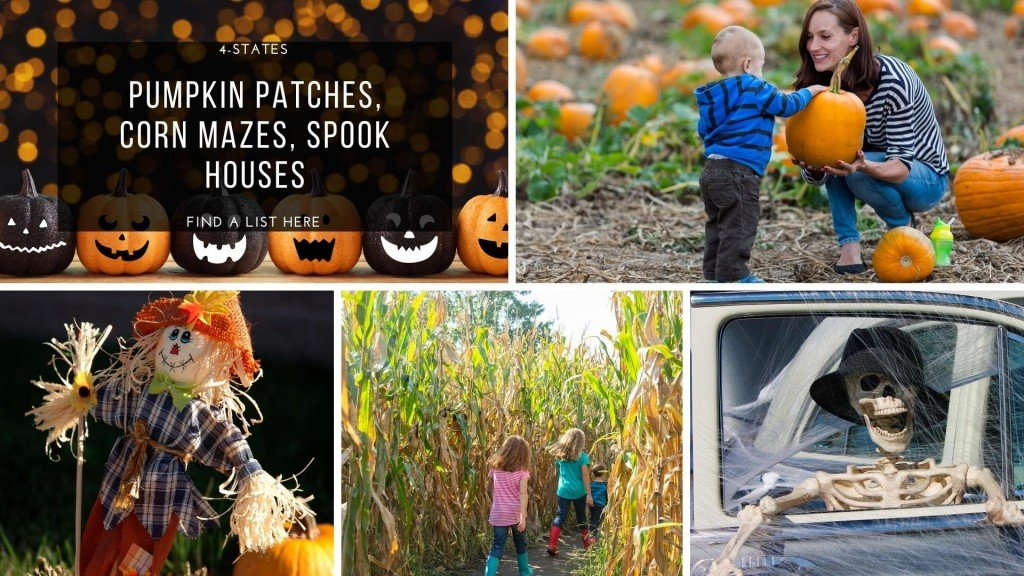 Fall brings dozens of events each year to the 4-state area - including pumpkin patches, corn mazes and spook houses.