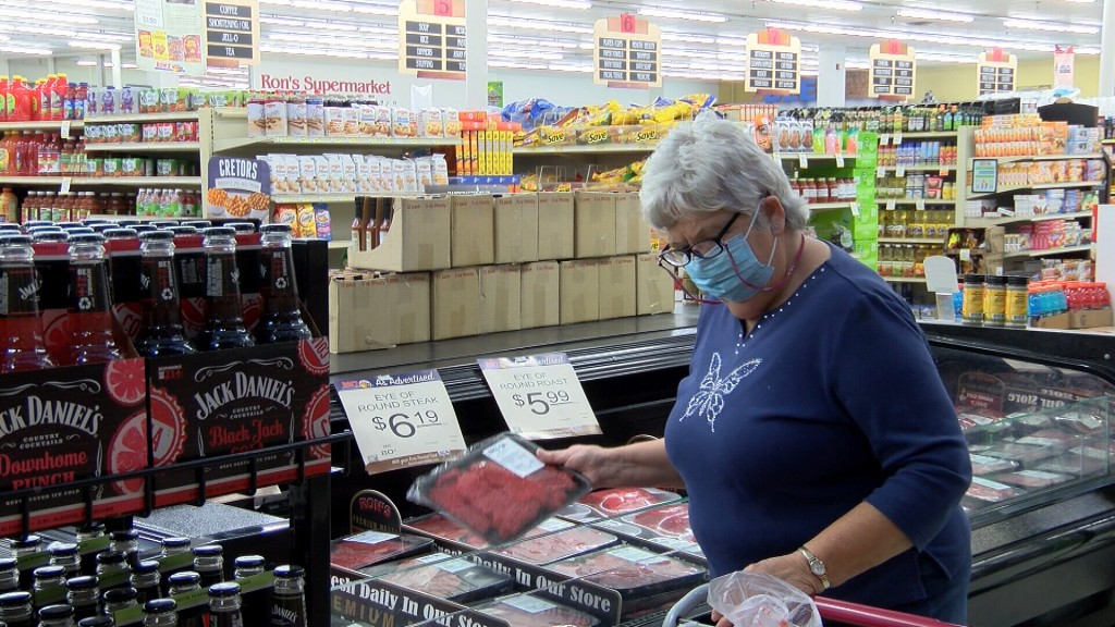 A Pittsburg Shopper At Rons Supermarket