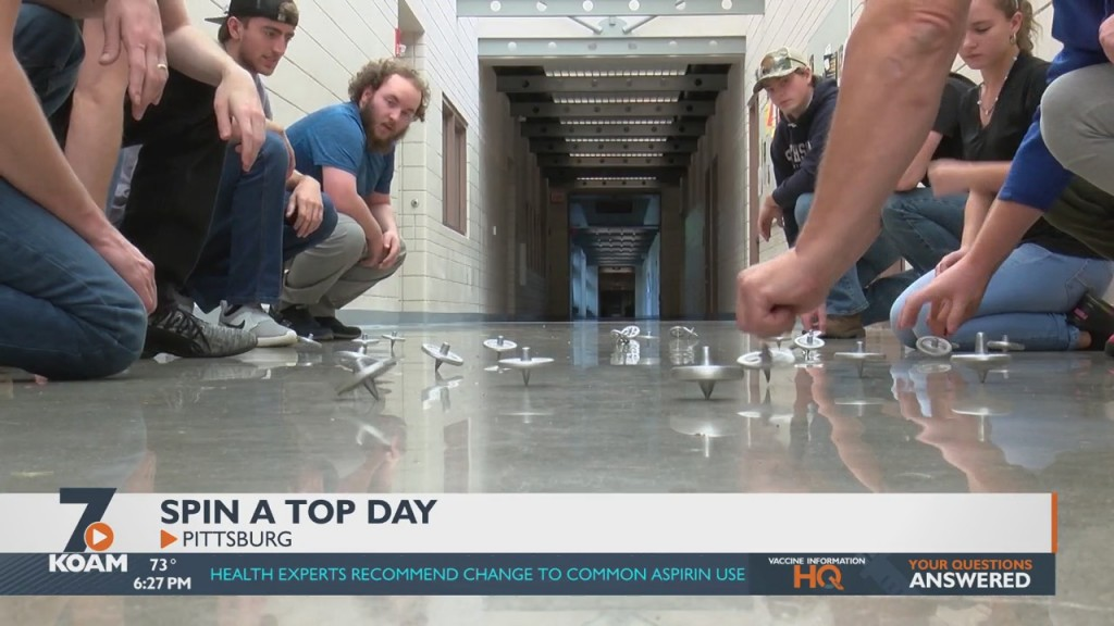 """Psu Technology Students Participate In """"spin A Top"""" Day"""