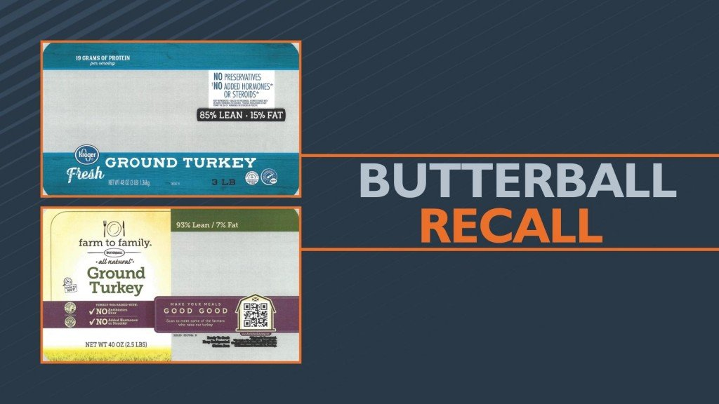Butterball Recalls Ground Turkey For Possible Foreign Matter
