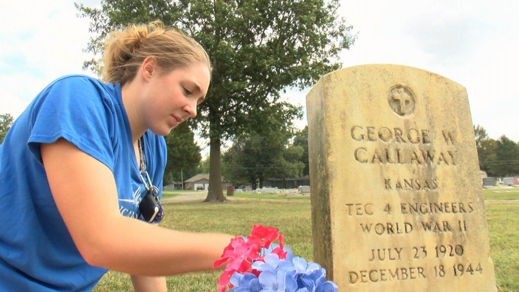 Pitt High Students clean up Mt. Olive Cemetery
