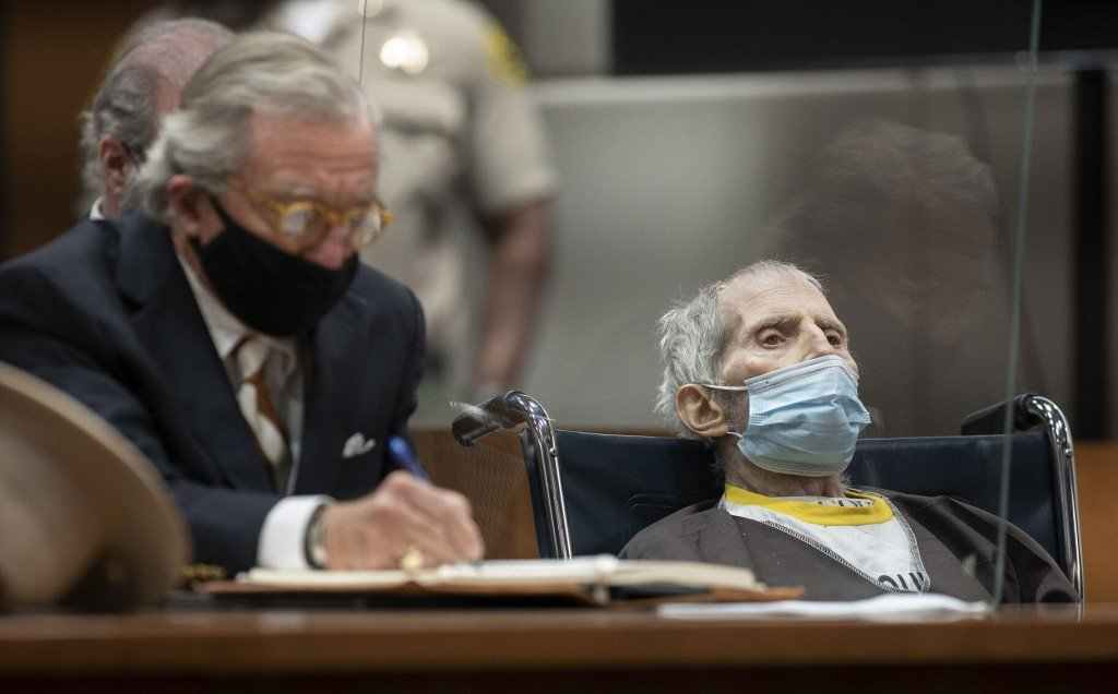 Just Sentenced Robert Durst Hospitalized With Covid 19, Lawyer Says