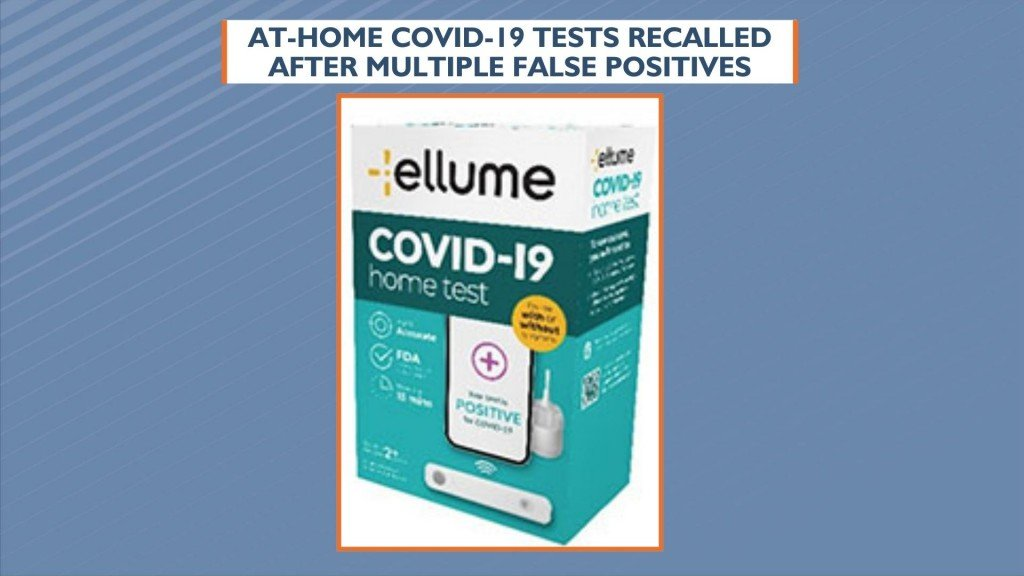 At Home Covid 19 Tests Recalled After Multiple False Positives