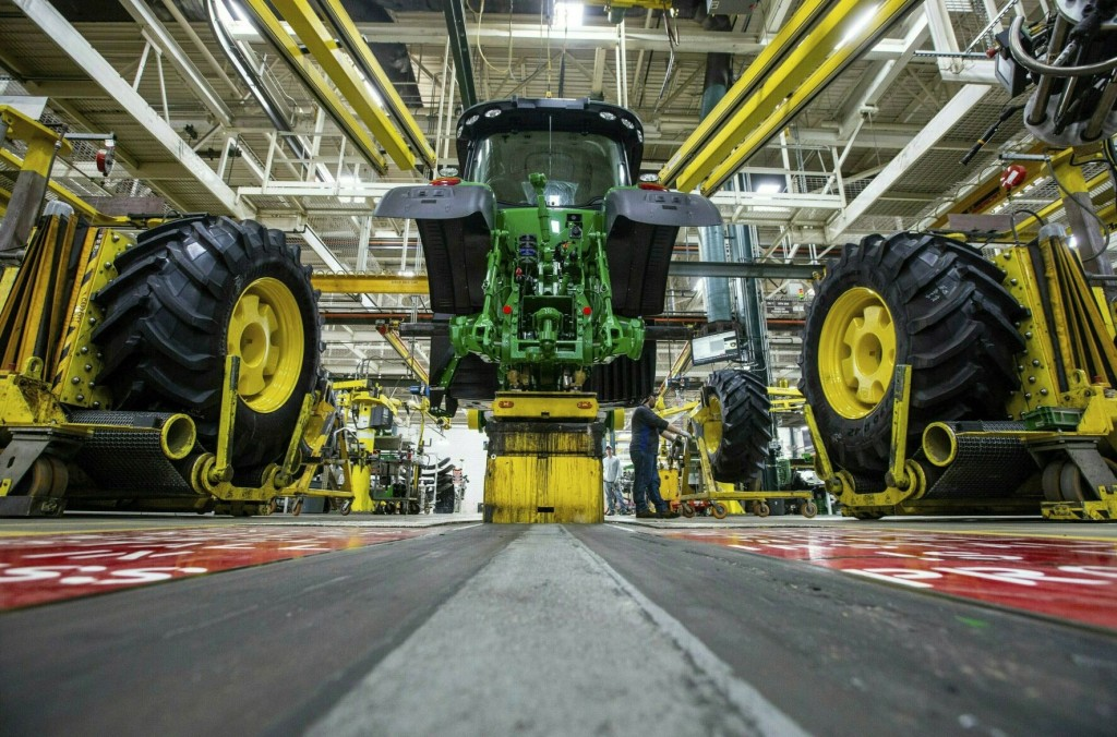 Thousands Of John Deere Workers Go On Strike After Rejecting Contract