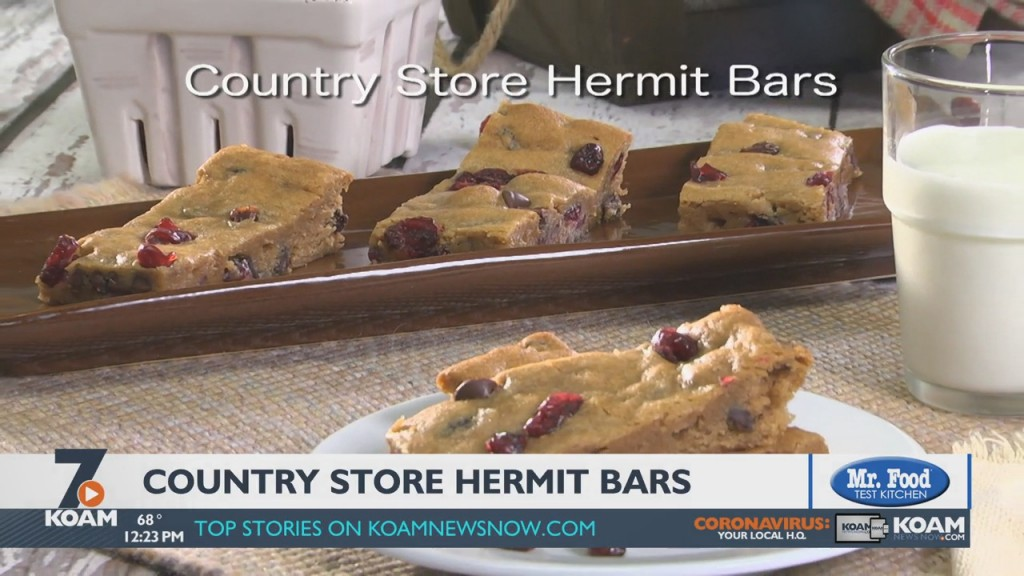 Mr. Food: Country Store Hermit Bars (10/20/2021)