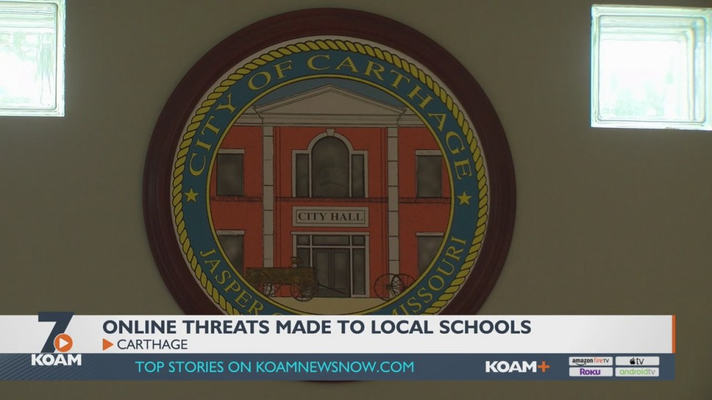 Carthage School District Is Experiencing An Increase In Online Threats.