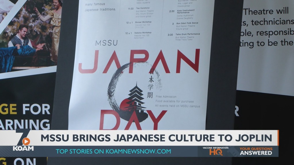 Mssu Culture Semester This Year Features Japan.