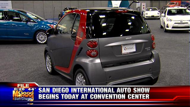 Auto Show Kicks Off Downtown - San diego convention center car show