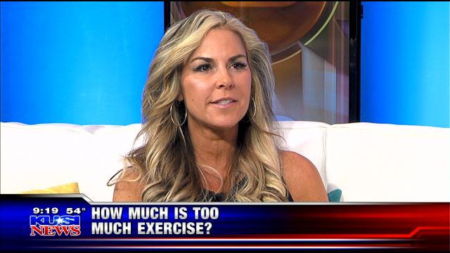 Cindy Whitmarsh How Much Is Too Exercise