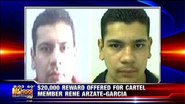A $20,000 reward for Sinaloa Cartel member