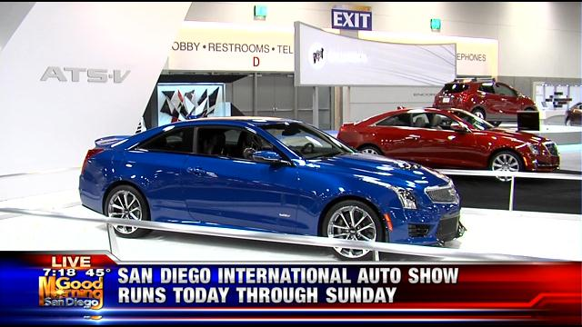 Convention Center Welcomes Car Models To San Diego Internati - San diego car show schedule