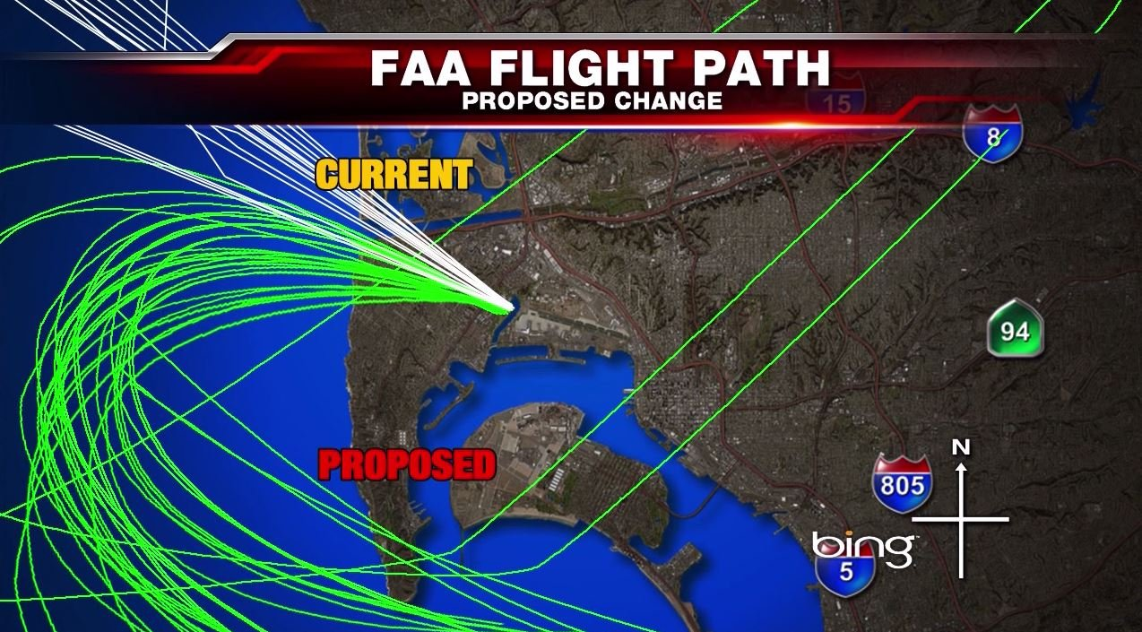 Congressman Speaks To Point Loma Residents About Faa