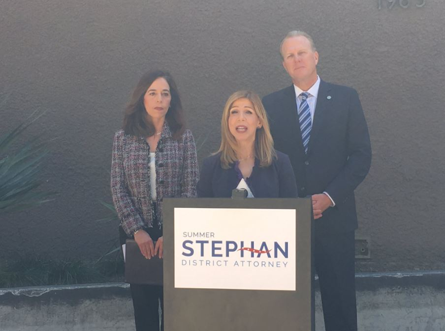 Mayor Faulconer, City Attorney Mara Elliott endorse Summer Steph