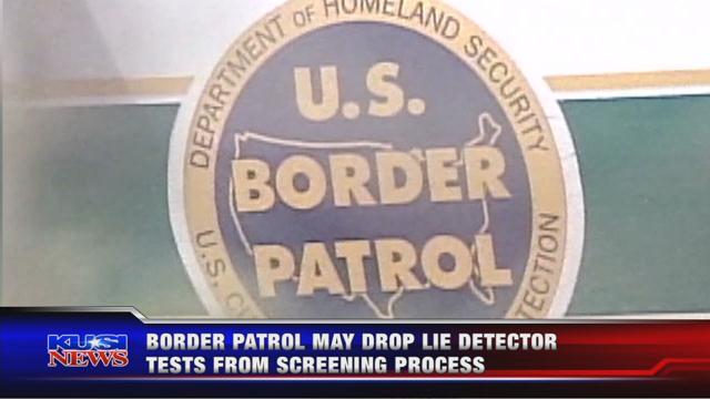Congress waives lie detector tests to address border patrol agen