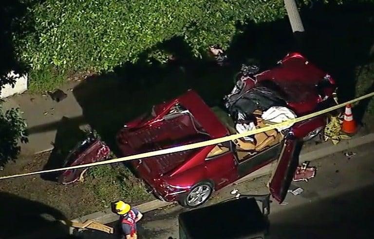 Pacific Palisades Car Crash