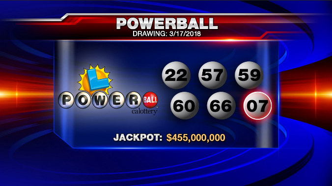 Powerball Winning Ticket Sold In Pennsylvania For 457 Million