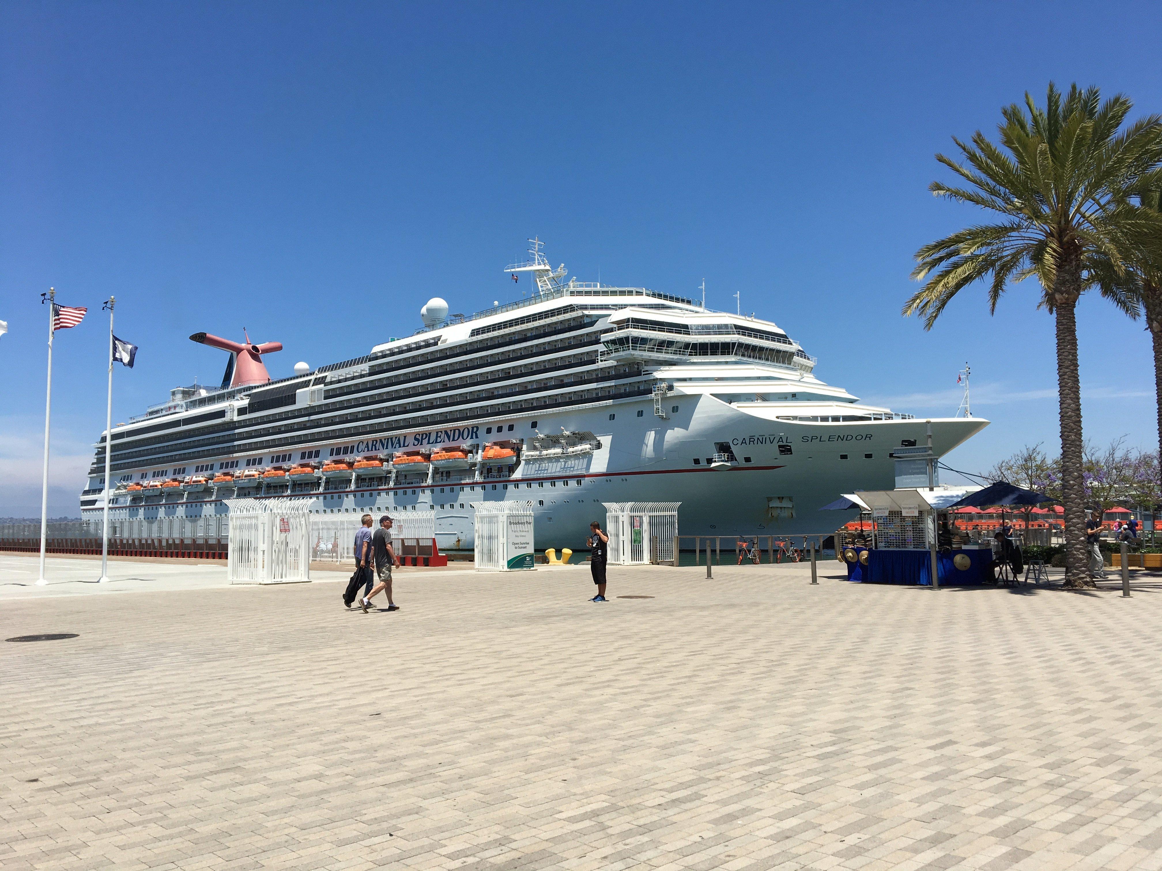 Carnival Splendor diverted to San Diego as Hurricane Bud