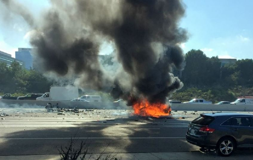 Wrong-way driver causes fatal crash on I-805 in University City -