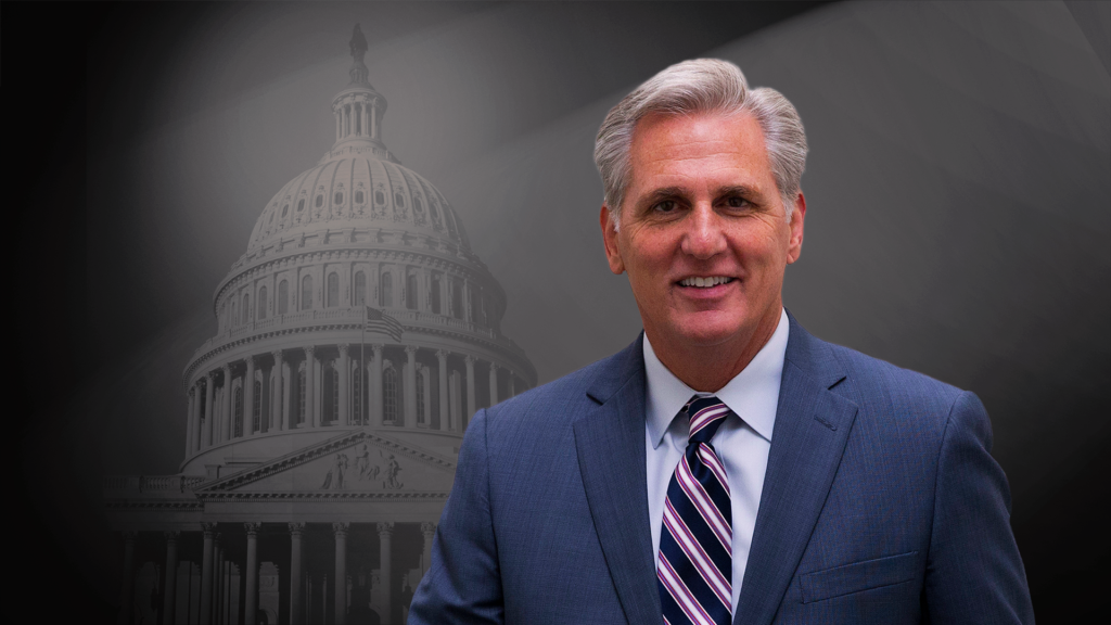 California Congressman Kevin McCarthy chosen to lead House ...