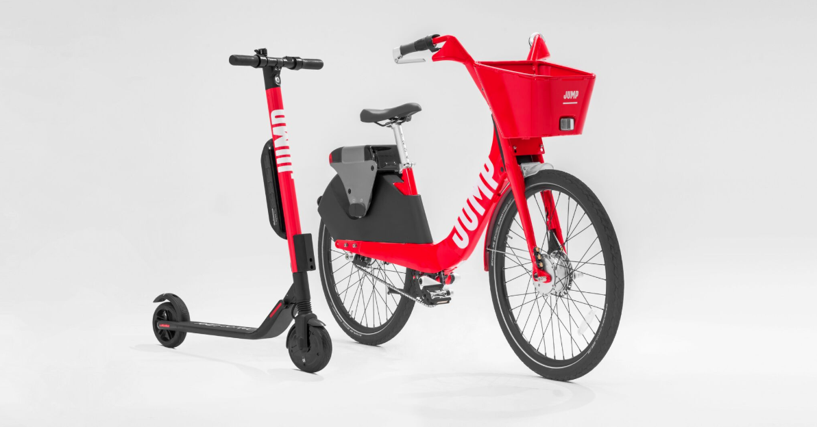 2654e5853fa Uber launches JUMP dockless electric bikes in San Diego with free rides -