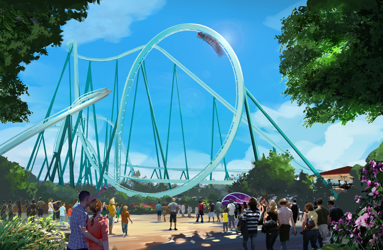 New Roller Coaster 2020 SeaWorld announces new roller coaster for 2020