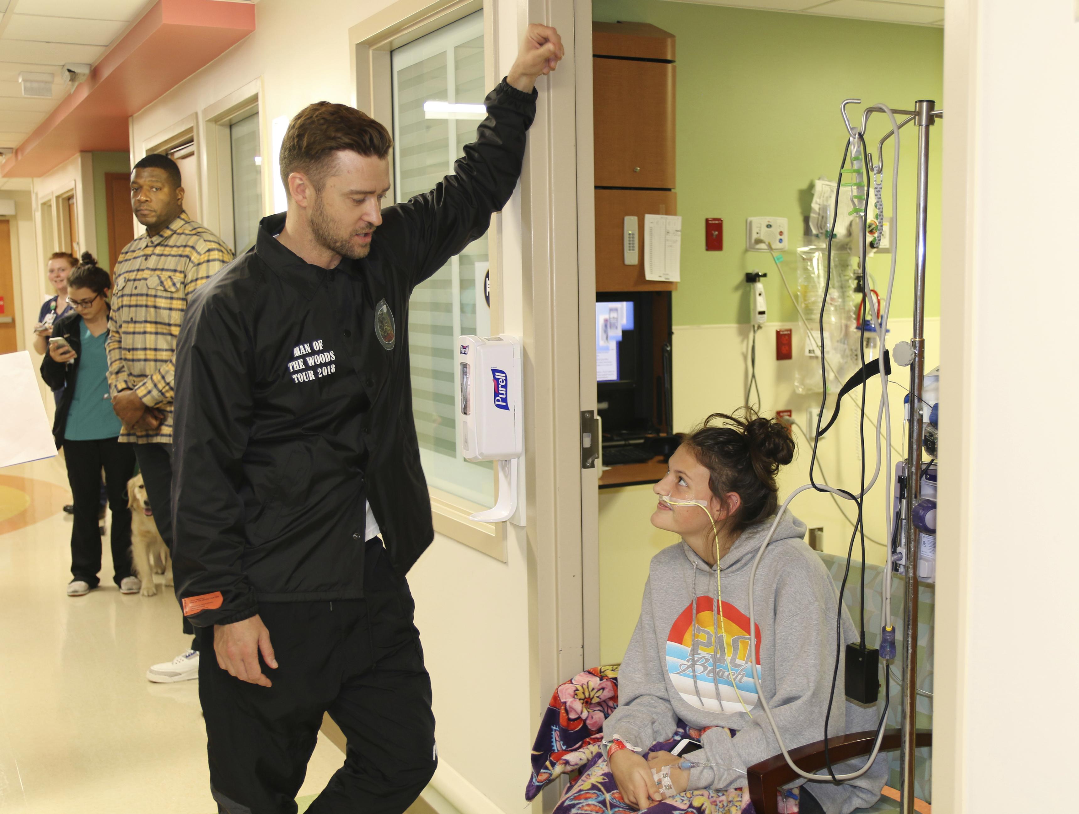 Justin Timberlake Surprises Children S Hospital Patients
