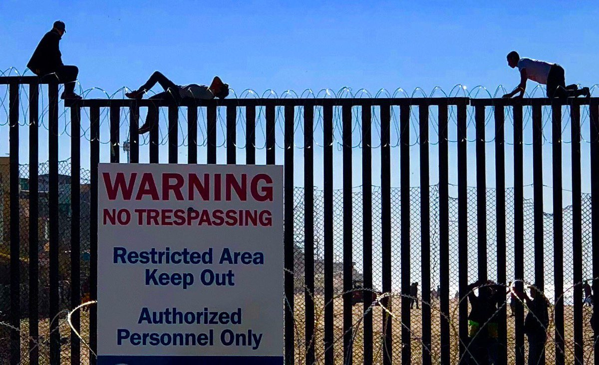 CNN requests KUSI for local view on the border, declines our reporter after finding out wall works -