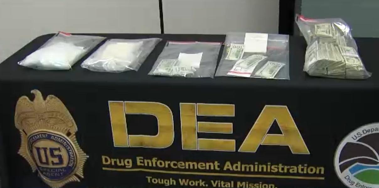 DEA takes down major methamphetamine distribution tied to local drug