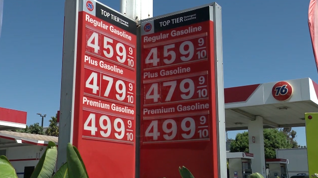 Gas Prices In California >> Reason For California S Rising Gas Prices