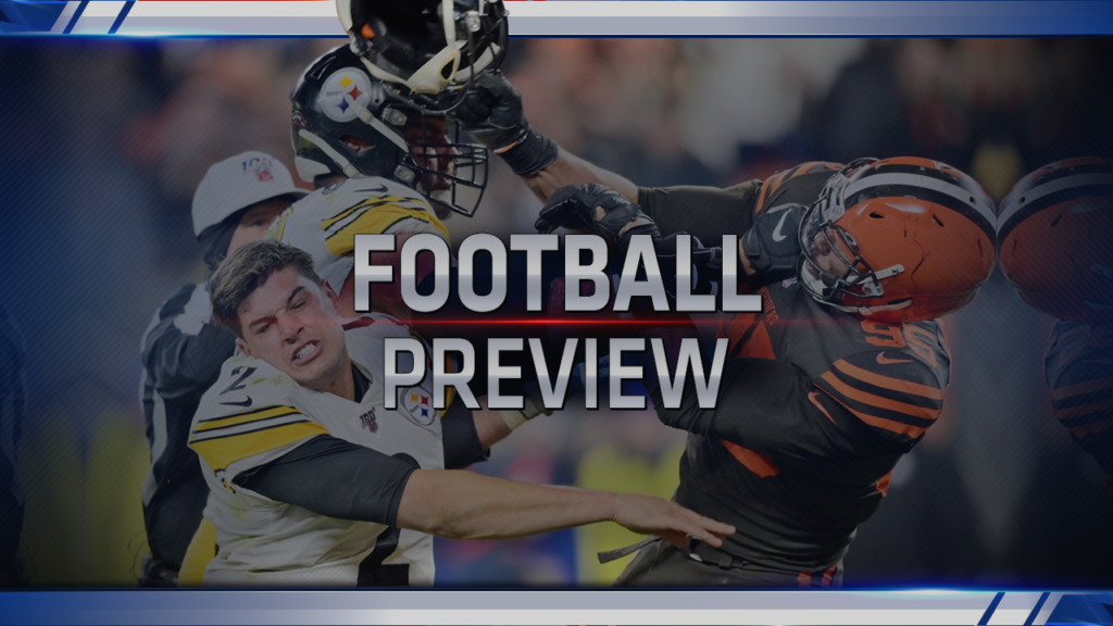 """College & NFL weekend preview with Lee """"Hacksaw"""" Hamilton 11/15 - - KUSI"""