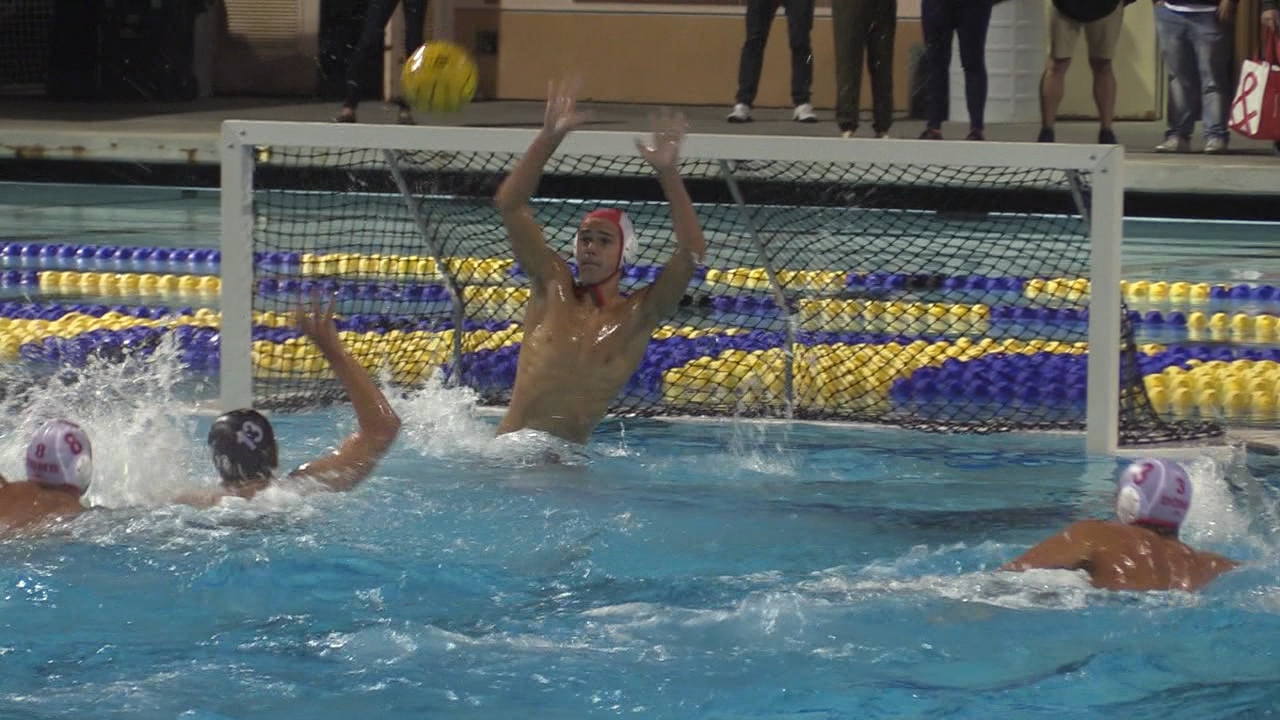 11/16/19 Boys Water Polo Open Division Final: Bishop's 9, Cathedral 8 - - KUSI