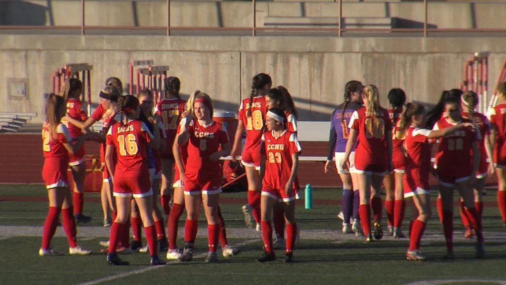 2/25/20 Girls Soccer: Cathedral 1, Eastlake 0