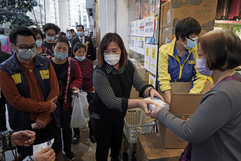 Virus Outbreak Face Mask Shortages