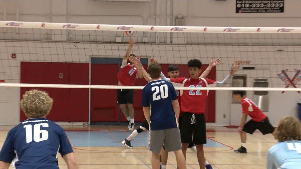 3/2/20 Boys Volleyball: El Cajon Valley 3, Maranatha Christian