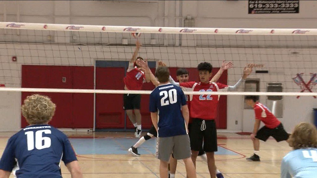 3/2/20 Boys Volleyball: El Cajon Valley 3, Maranatha Christian